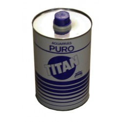 AGUARRAS PURO TITAN 1 LT